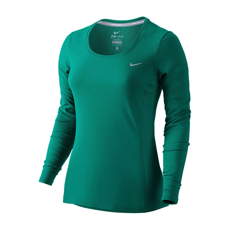 Nike Womens Dri Fit Long Sleeve Running Shirt