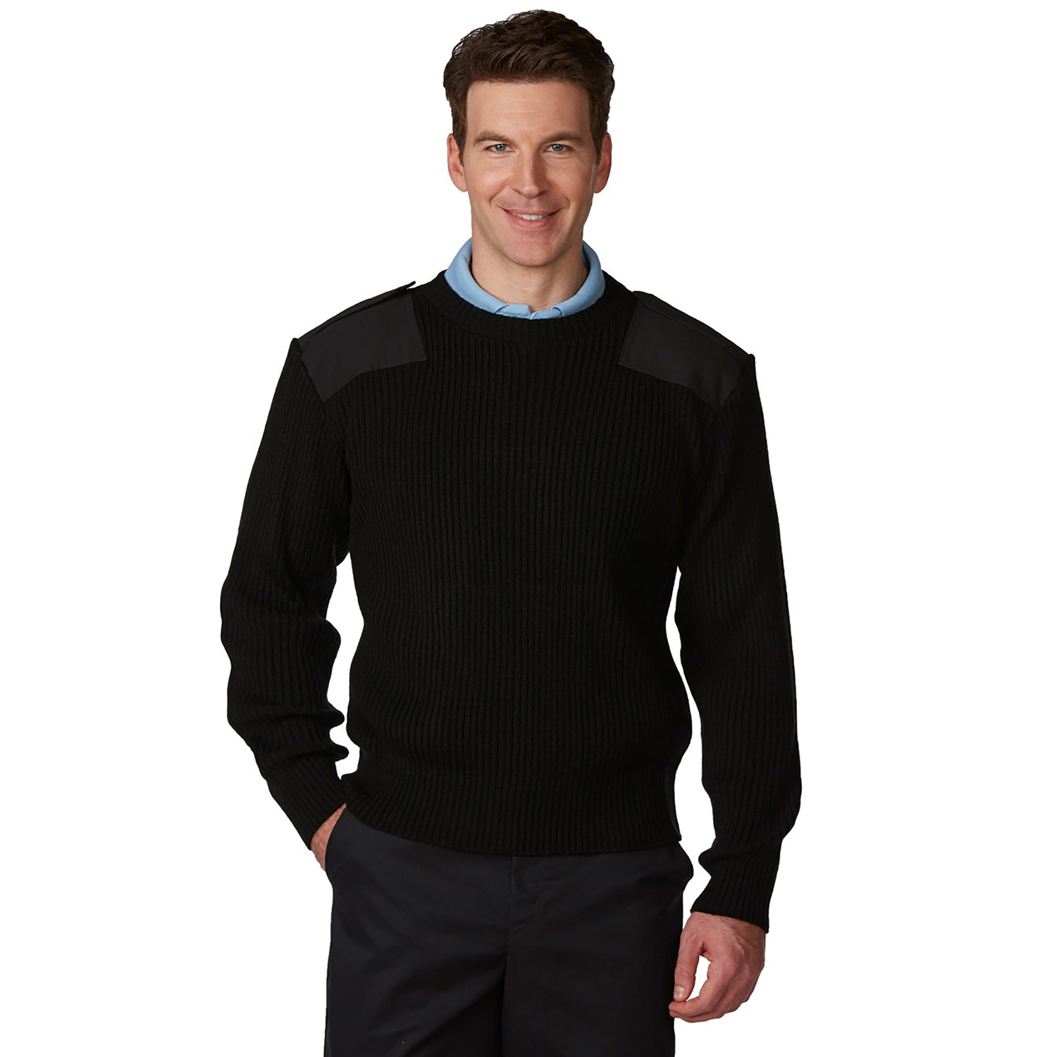A+ Career Apparel Unisex Crewneck Commando Sweater 100 Per C