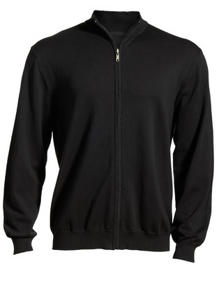 Edwards Full-Zip Fine Gauge Sweater