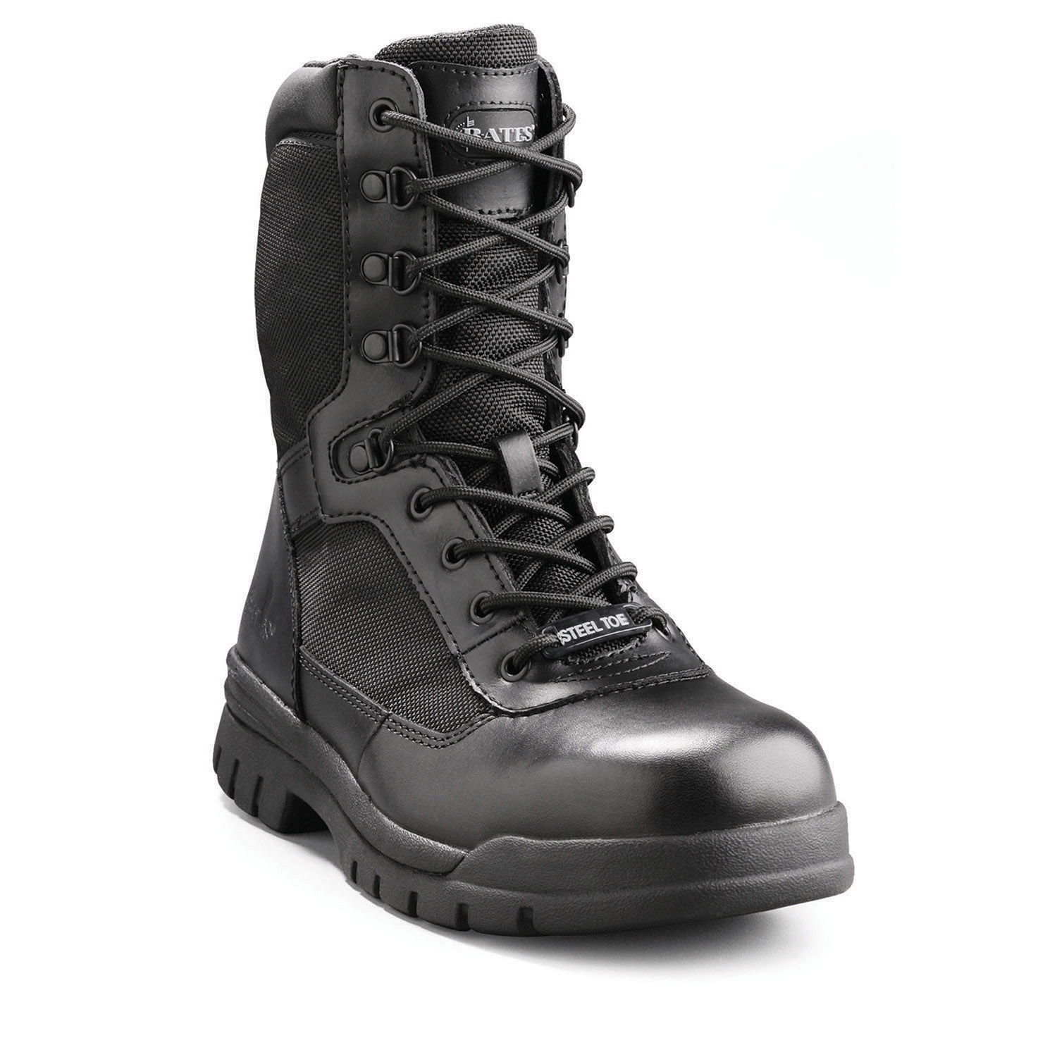"Bates 8"" Zipper Steel Toe Boot"