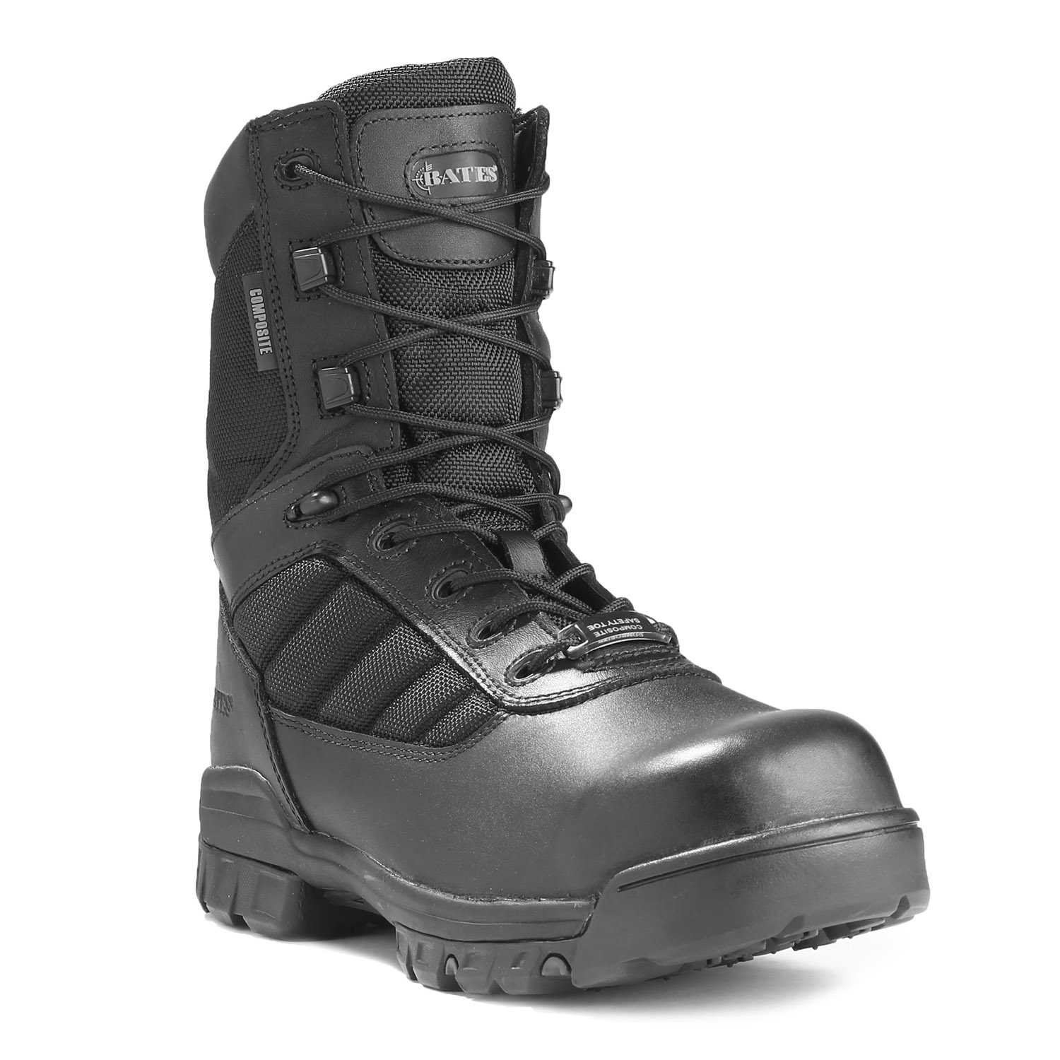 "Bates 8"" Zipper Composite Toe Boot"