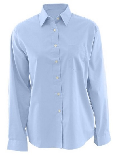 Edwards Womens Long Sleeve Broadcloth Shirt