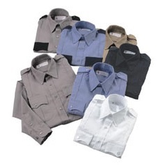 Liberty Uniform Polyester and Cotton Police Shirts