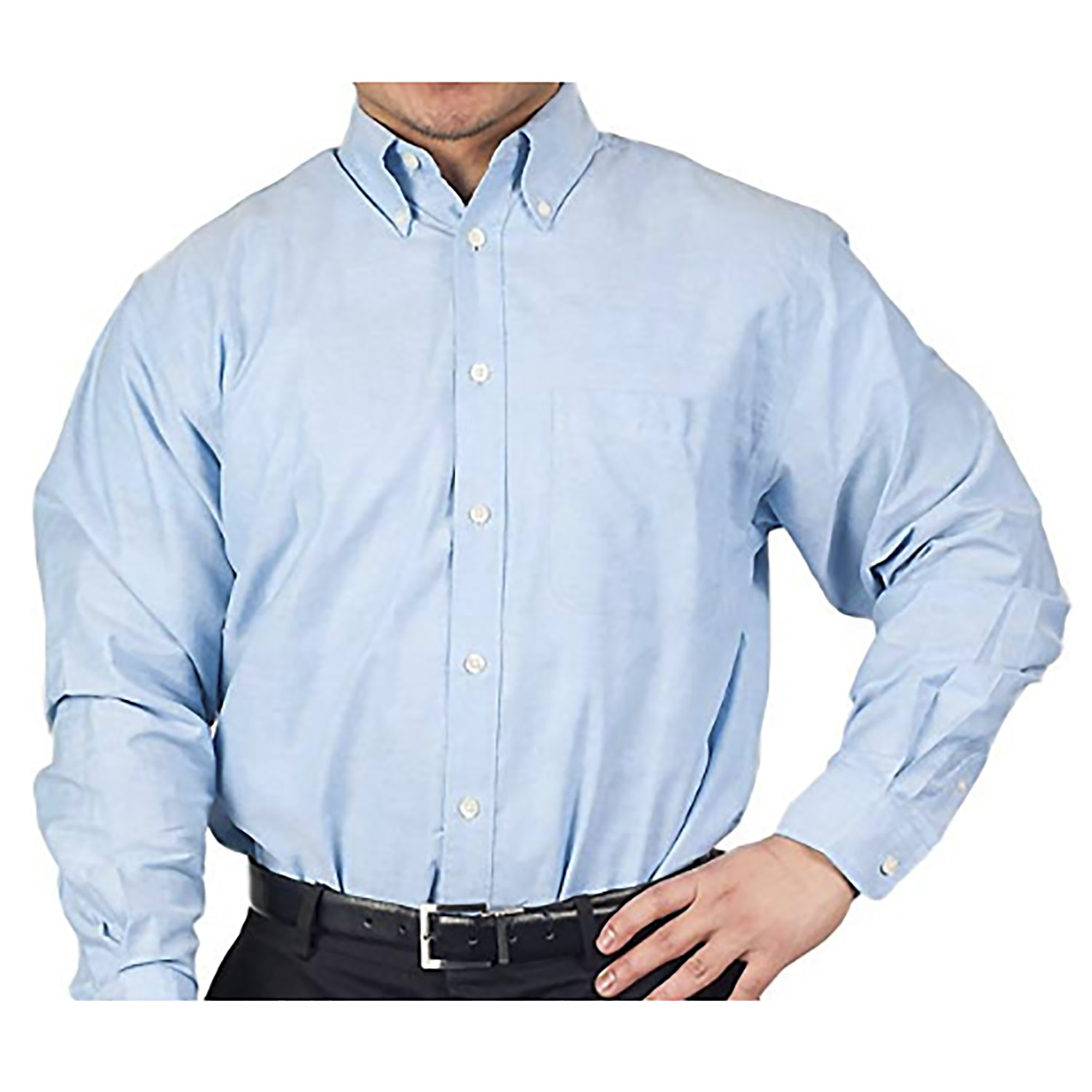 Armark Mens Long Sleeve Oxford shirt