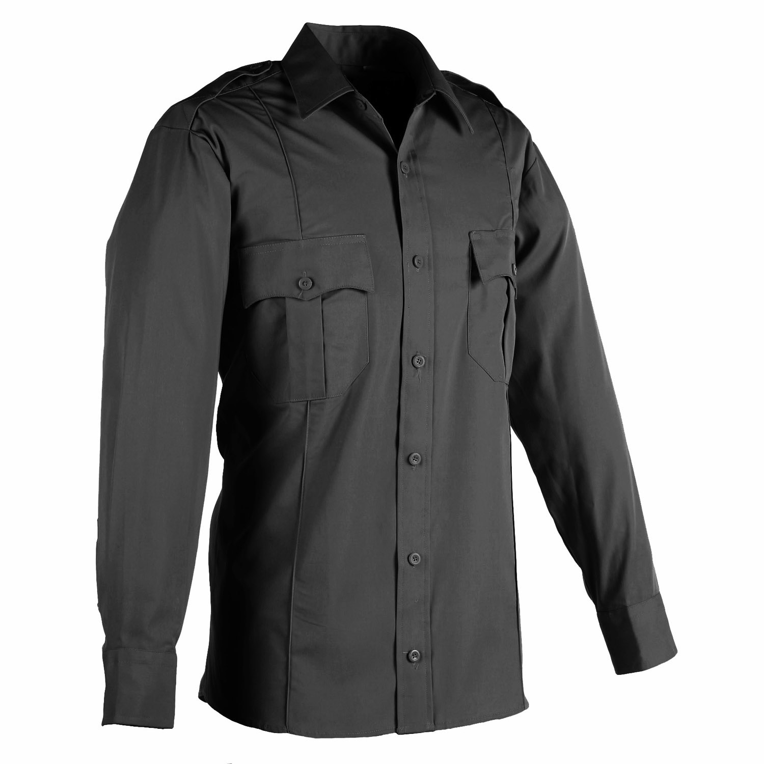 8d025377 LawPro Poly Cotton Long Sleeve Premium Shirt
