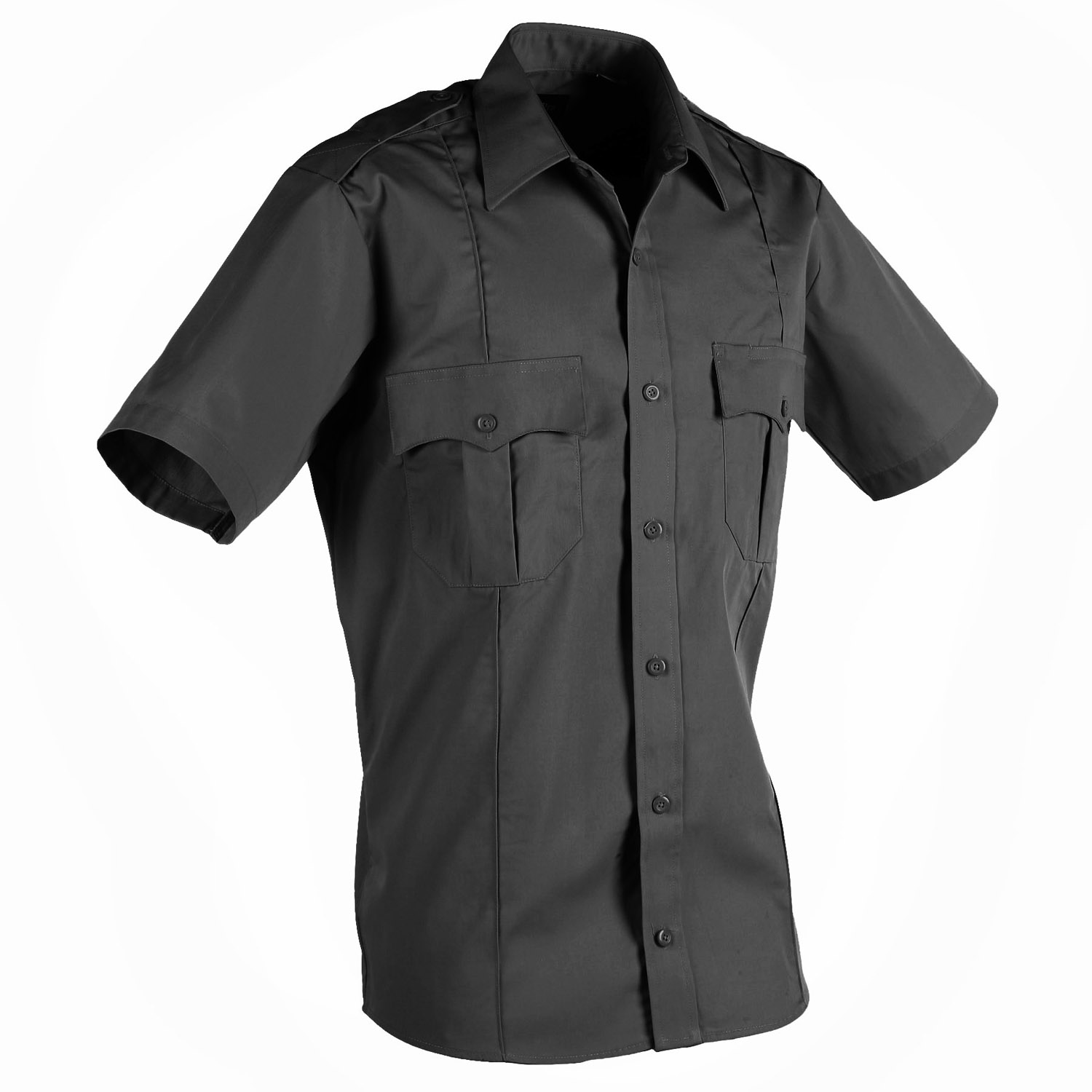 ab190ef7dc2bae LawPro Poly Cotton Short Sleeve Premium Shirt