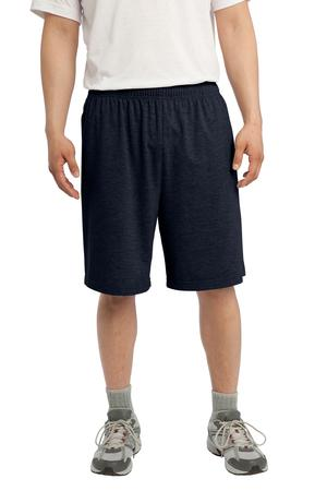 Sport Tek Jersey Knit Shorts with Pockets