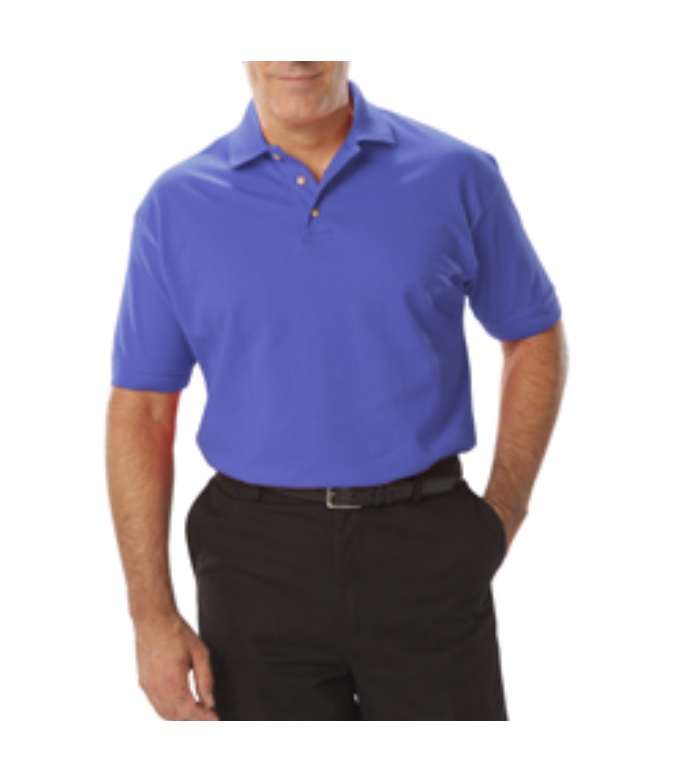 BLUE GEN MENS 60/40 CTN/PLY POLO