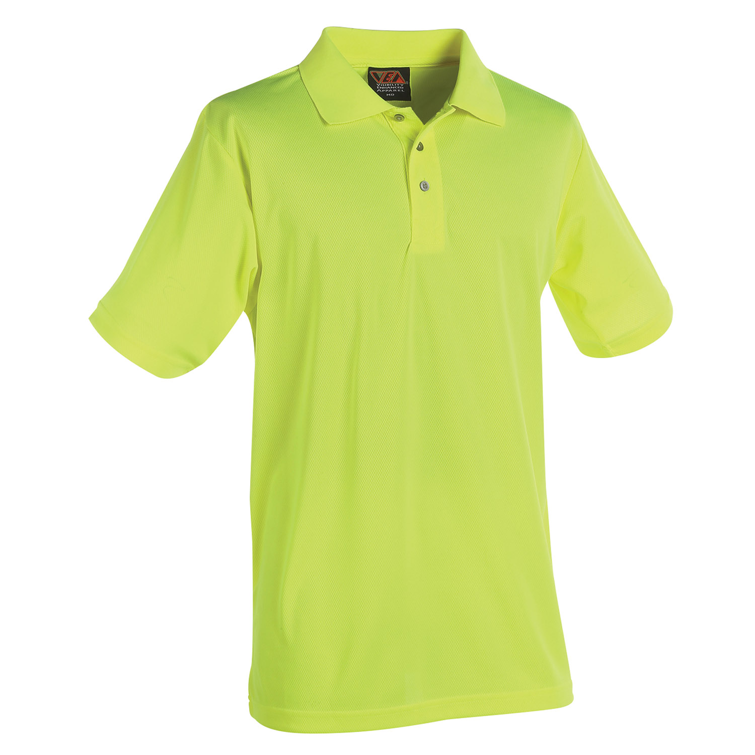 Reflective Apparel Factory Visibility Knit Performance Polo