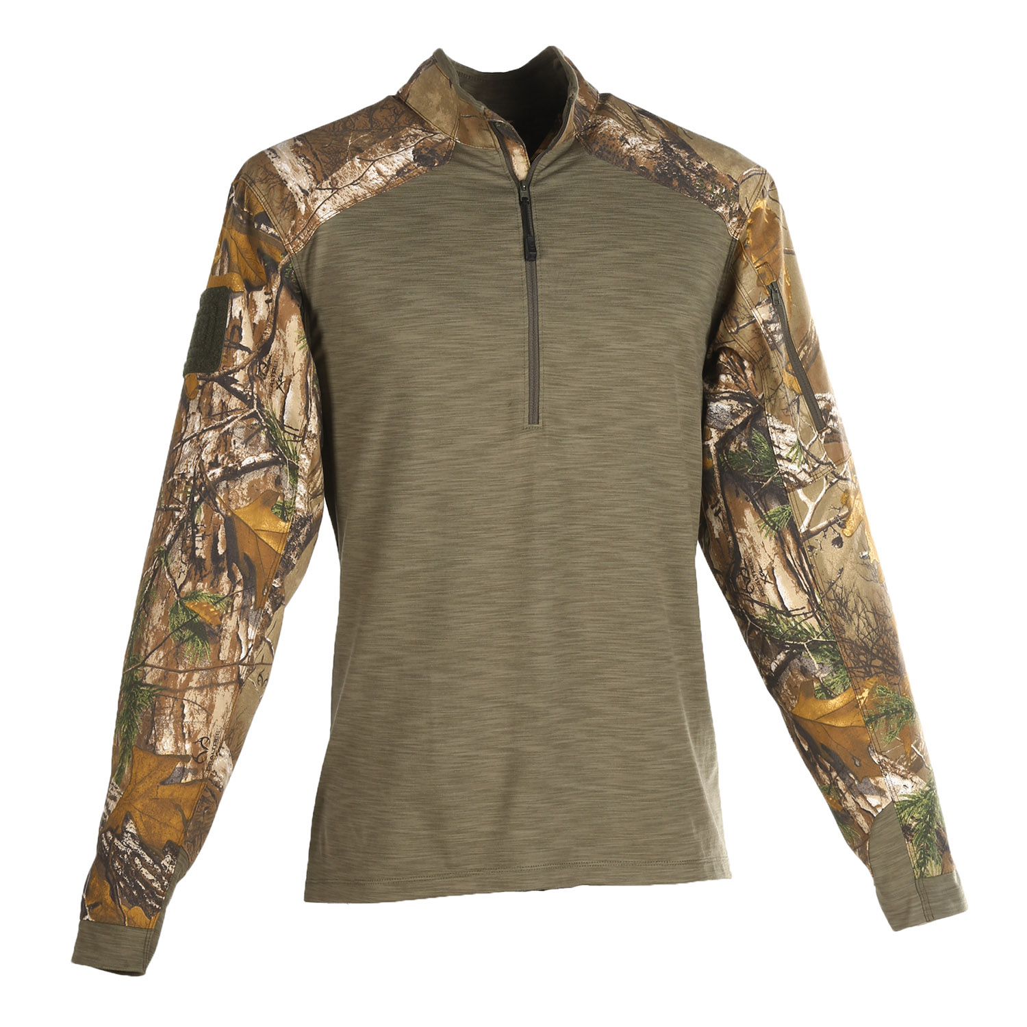 5.11 Tactical Realtree Rapid Response Quarter Zip Shirt