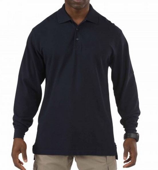 5.11 Tactical Professional Long Sleeve Polo with Chest Pocke