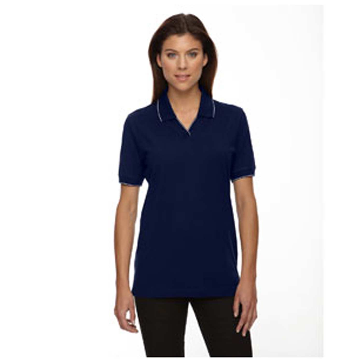 Ash City Extreme Ladies' Cotton Jersey Polo