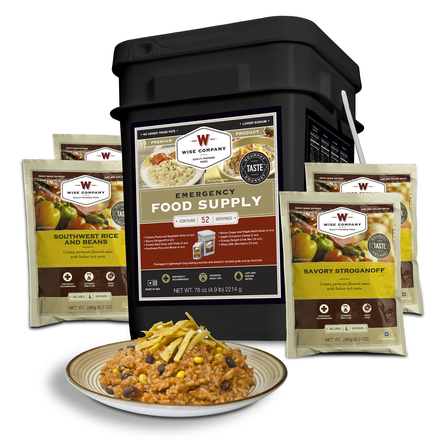 Wise Company Food Prepper Pack
