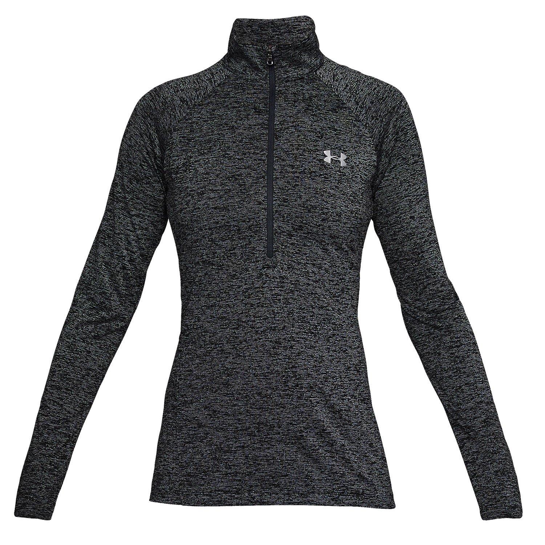 31cd92727b Under Armour Women's Tech Twist Half Zip Long Sleeve Shirt.