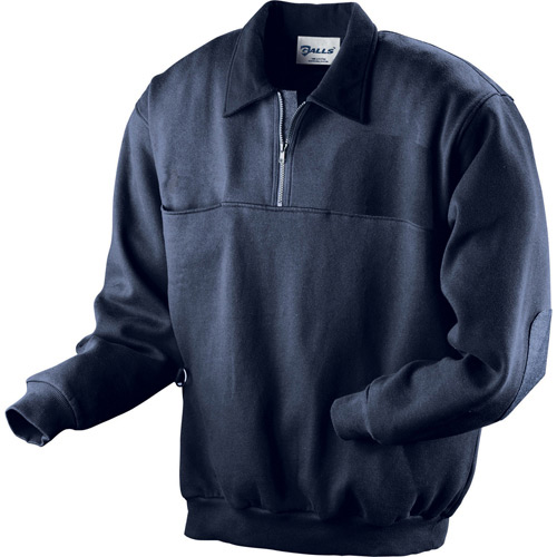 Galls Plain Firefighter Workshirt with Microfleece Collar