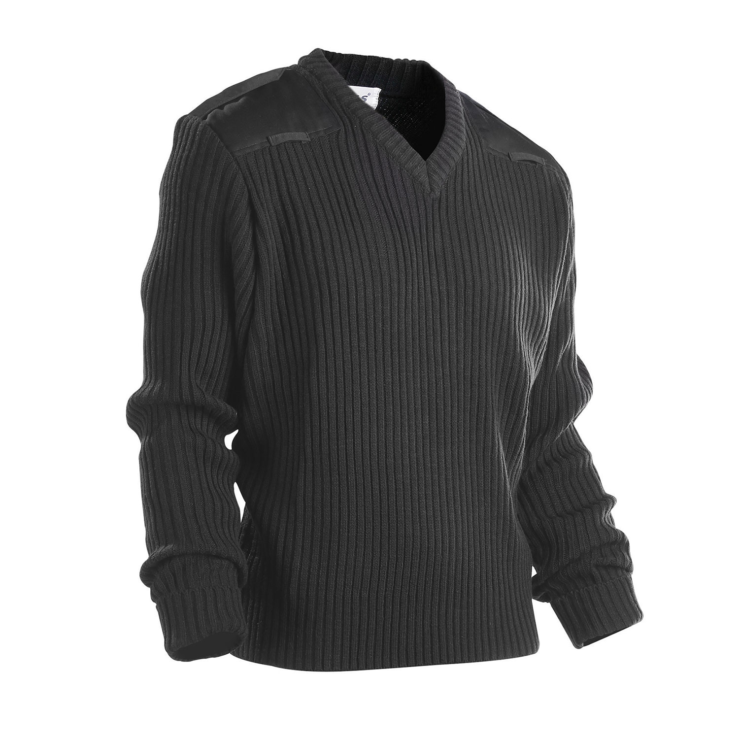 Galls Commando V Neck Acrylic Wool Sweater