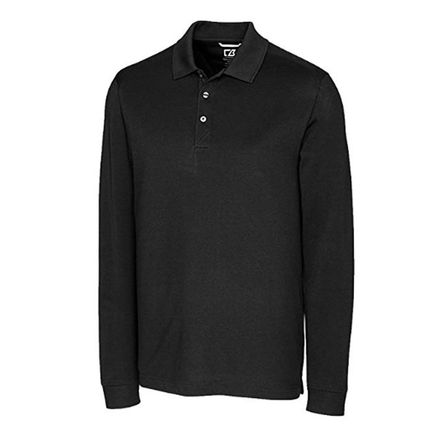 Cutter and Buck Mens Longsleeve Tournament Polo