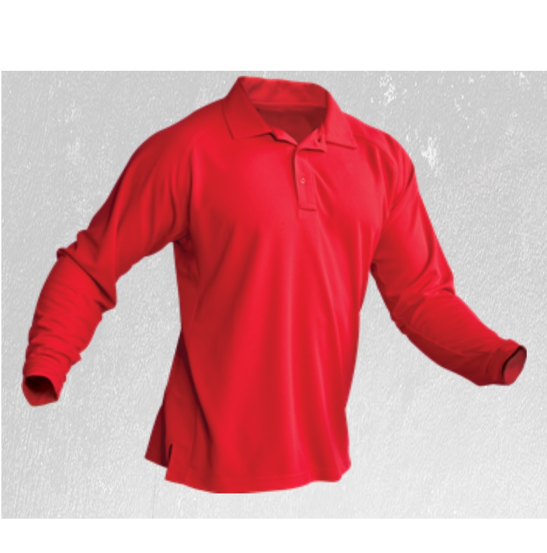 Vertx Long Sleeve Action Polo with Coldblack