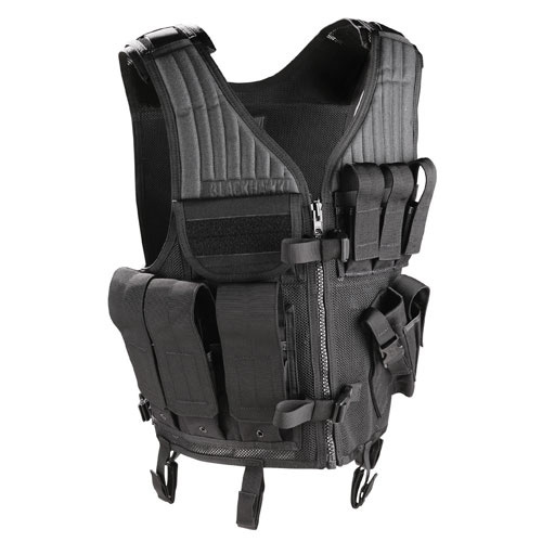 BLACKHAWK! Omega Elite Vest Cross Draw/Pistol Mag