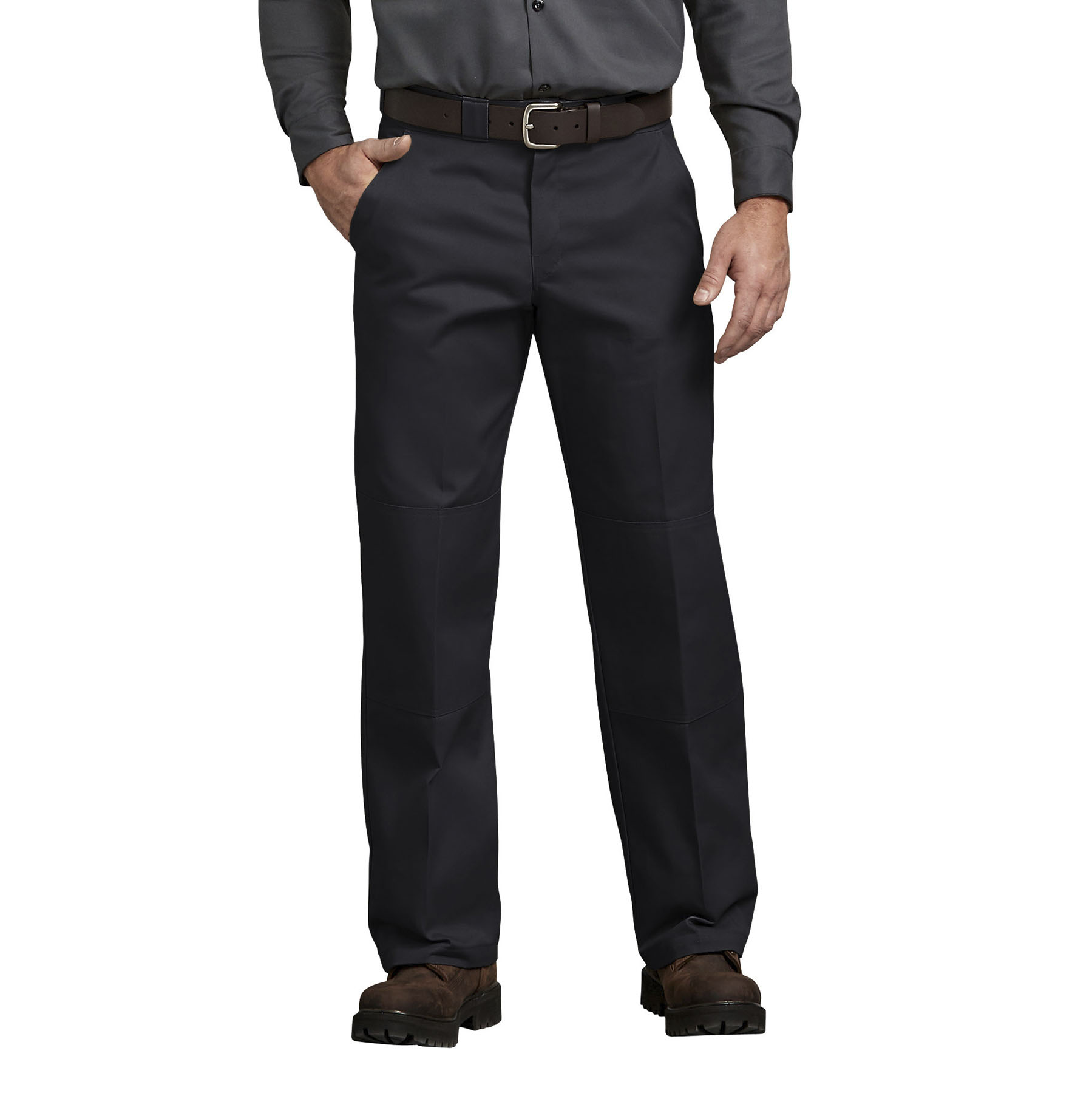 Dickies Relaxed Fit Straight Leg Double Knee Pants