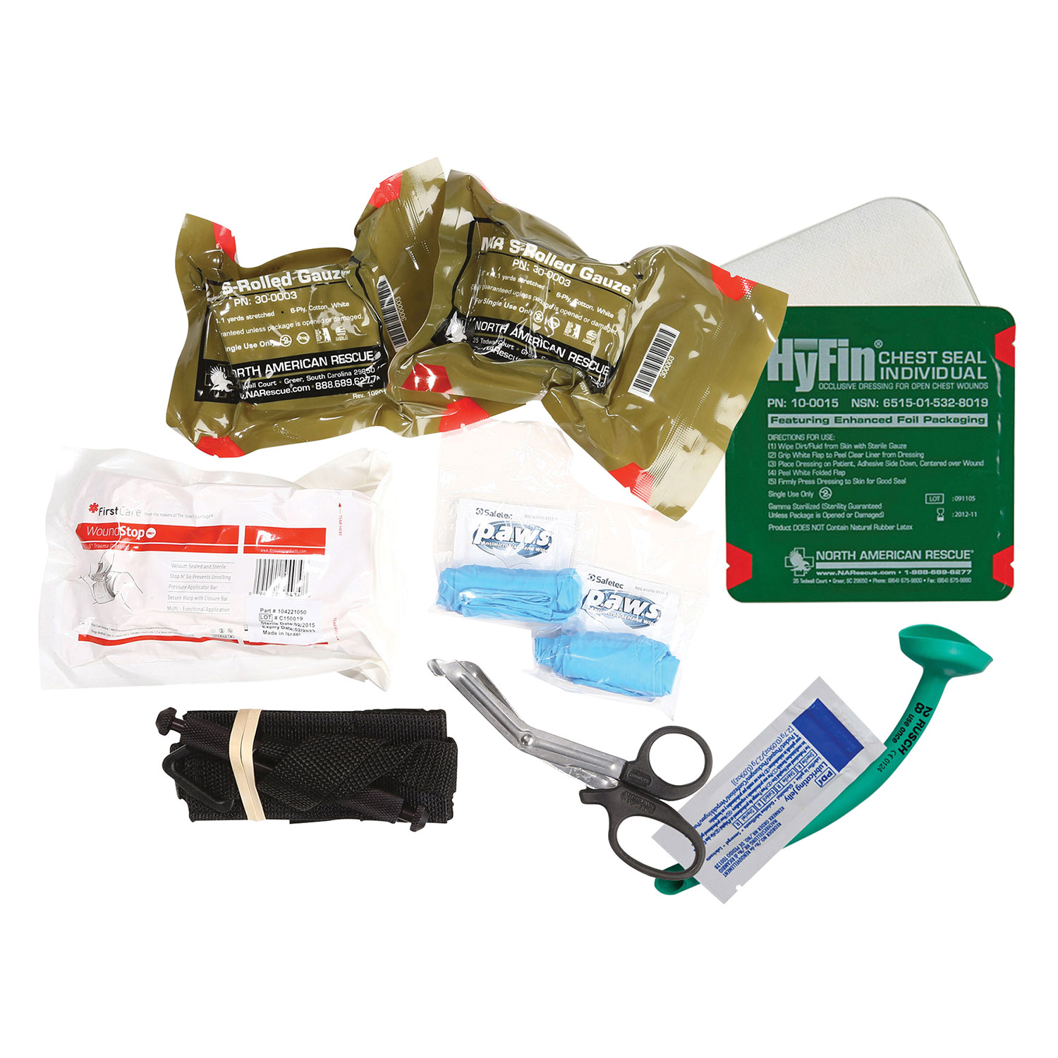 Deluxe Bleeding Management Kit with SOF-T Tourniquet