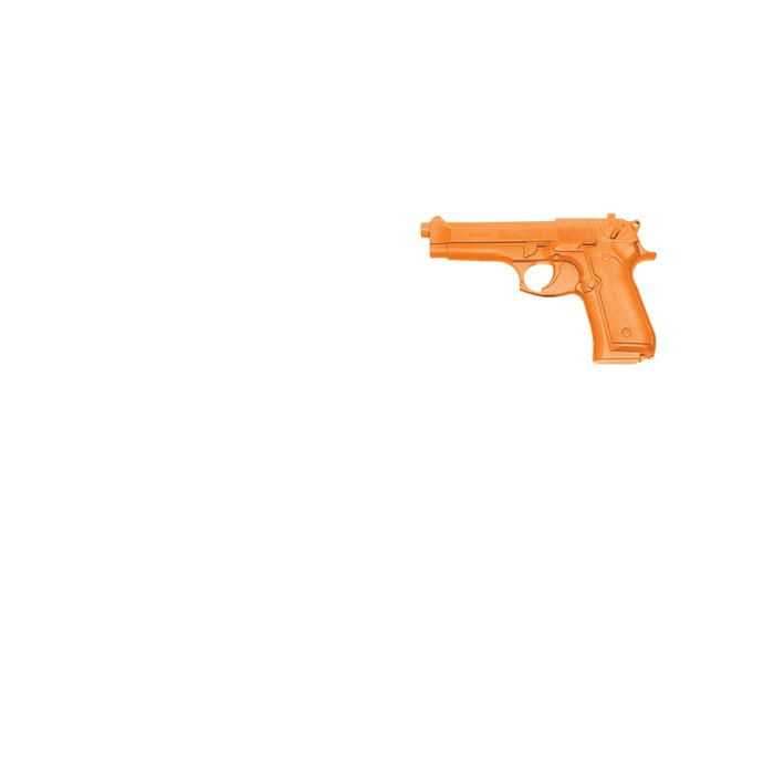 BLACKHAWK! Orange Demo Gun Beretta 92F