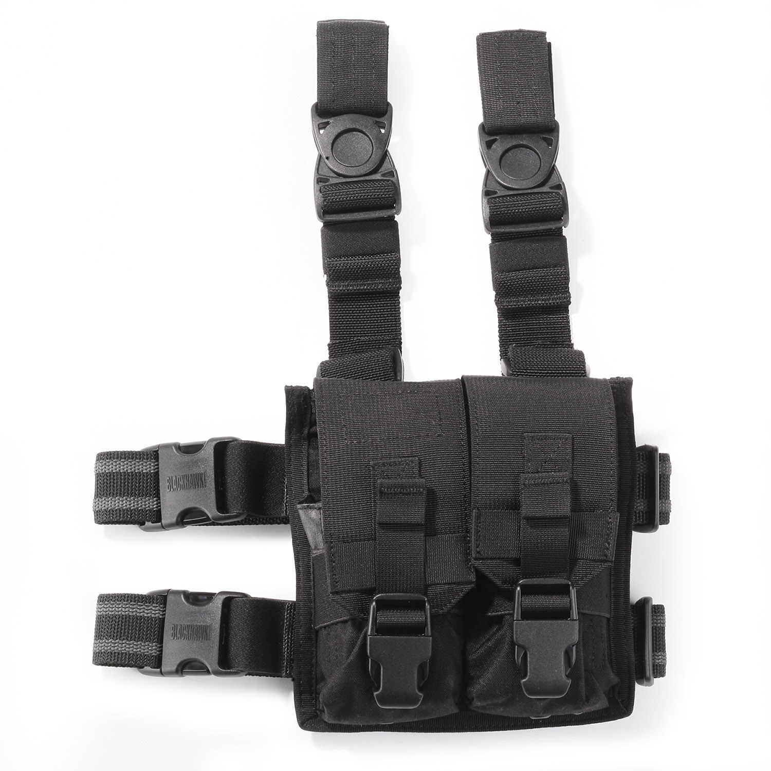 BLACKHAWK! M4 Y Drop Leg Thigh Rig with Twin Pouches