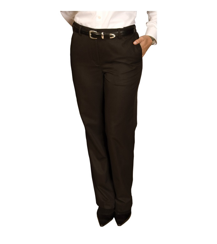 Edwards Women's Flat Front Chino Pants