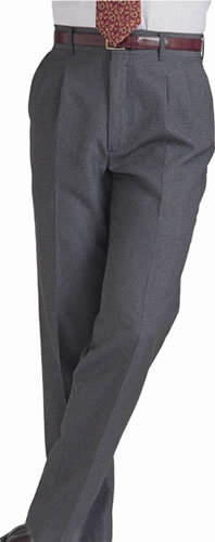 Edwards Garment Mens Washable Wool Blend Pleated Pant