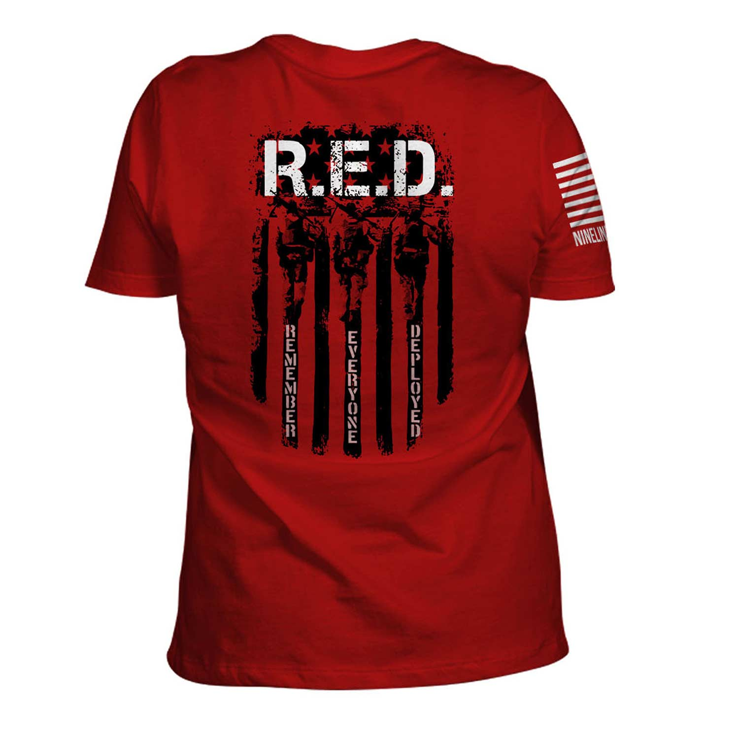 Nine Line Women's R.E.D. (Remember Everyone Deployed) T-Shir