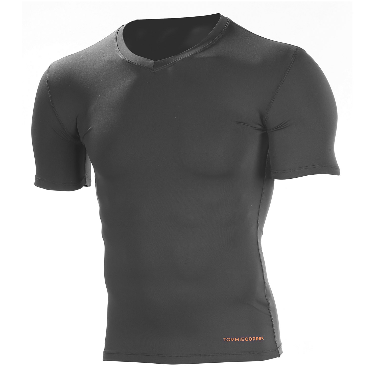 Tommie Copper Men's Omega Recovery Compression V-Neck Shirt