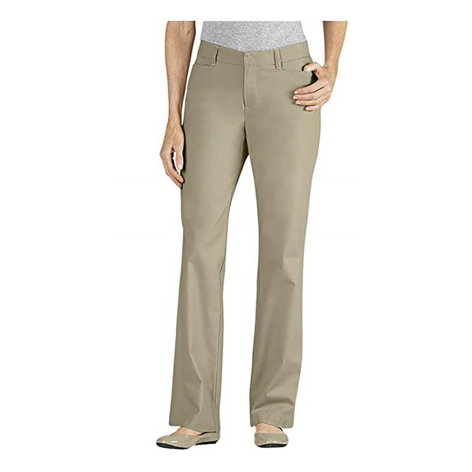 Dickies S Curvy Straight Stretch Twill Pant