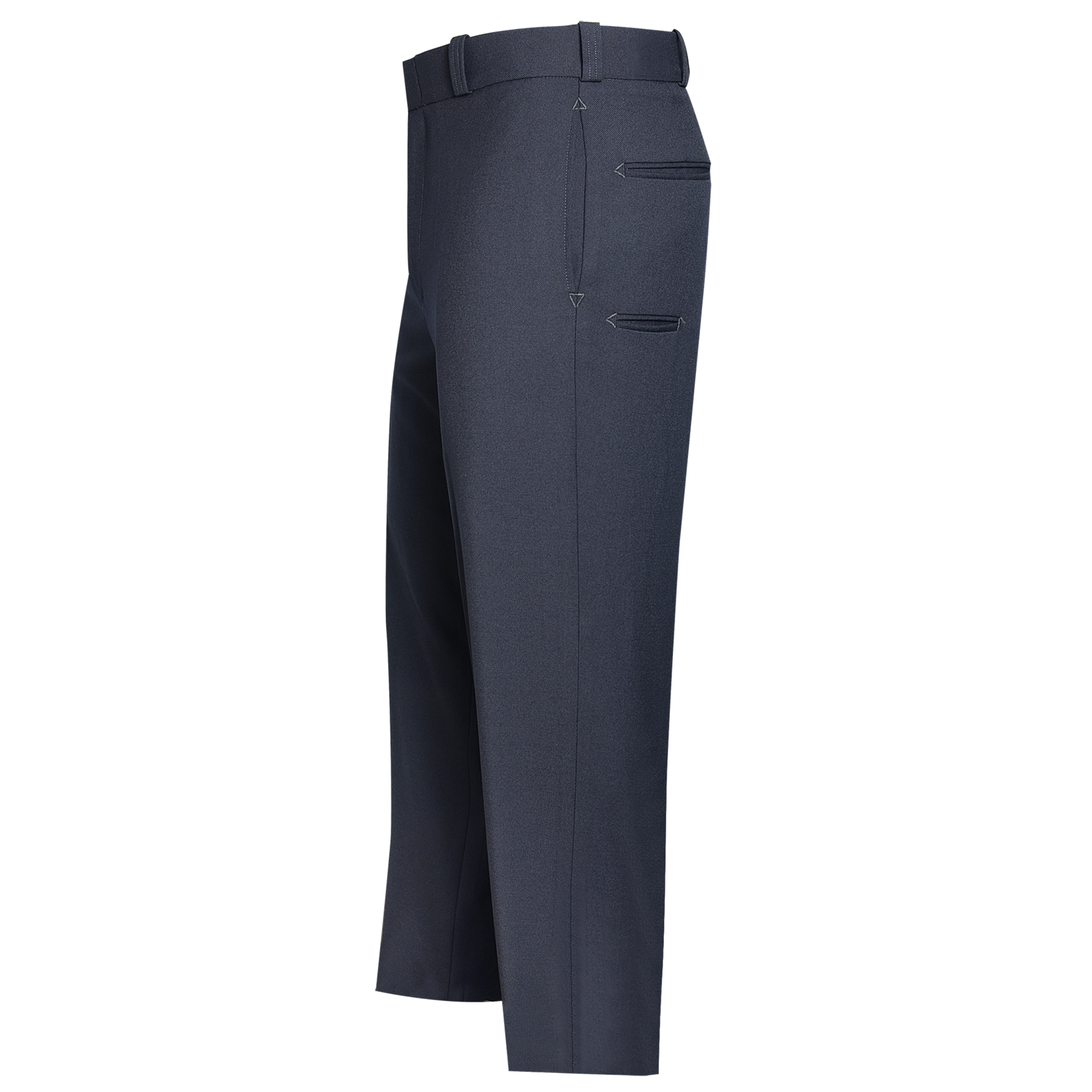 Flying Cross Mens Polyster T-6 Serge Trousers with Club Pock