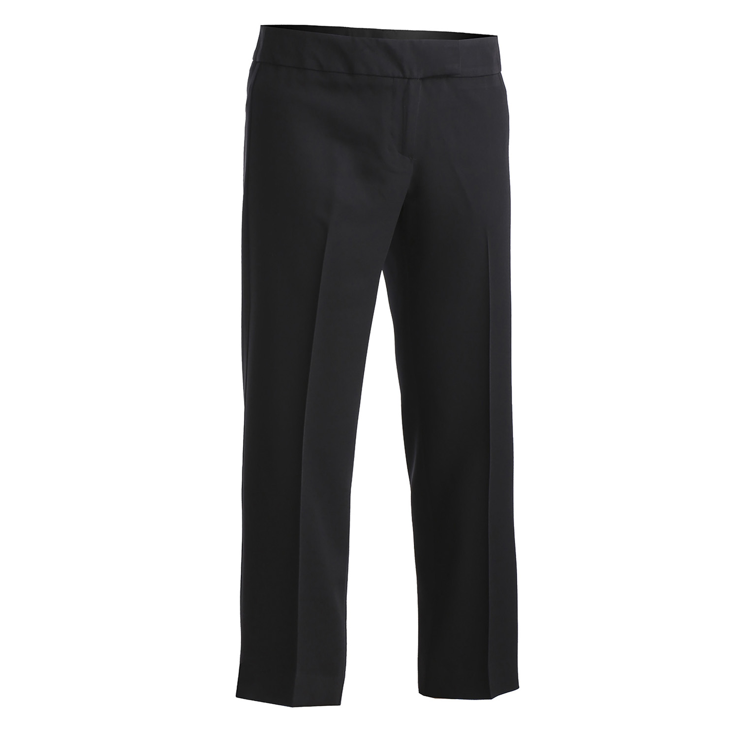 Edwards Garment Women's Low Rise Flat Front Boot Cut Pant