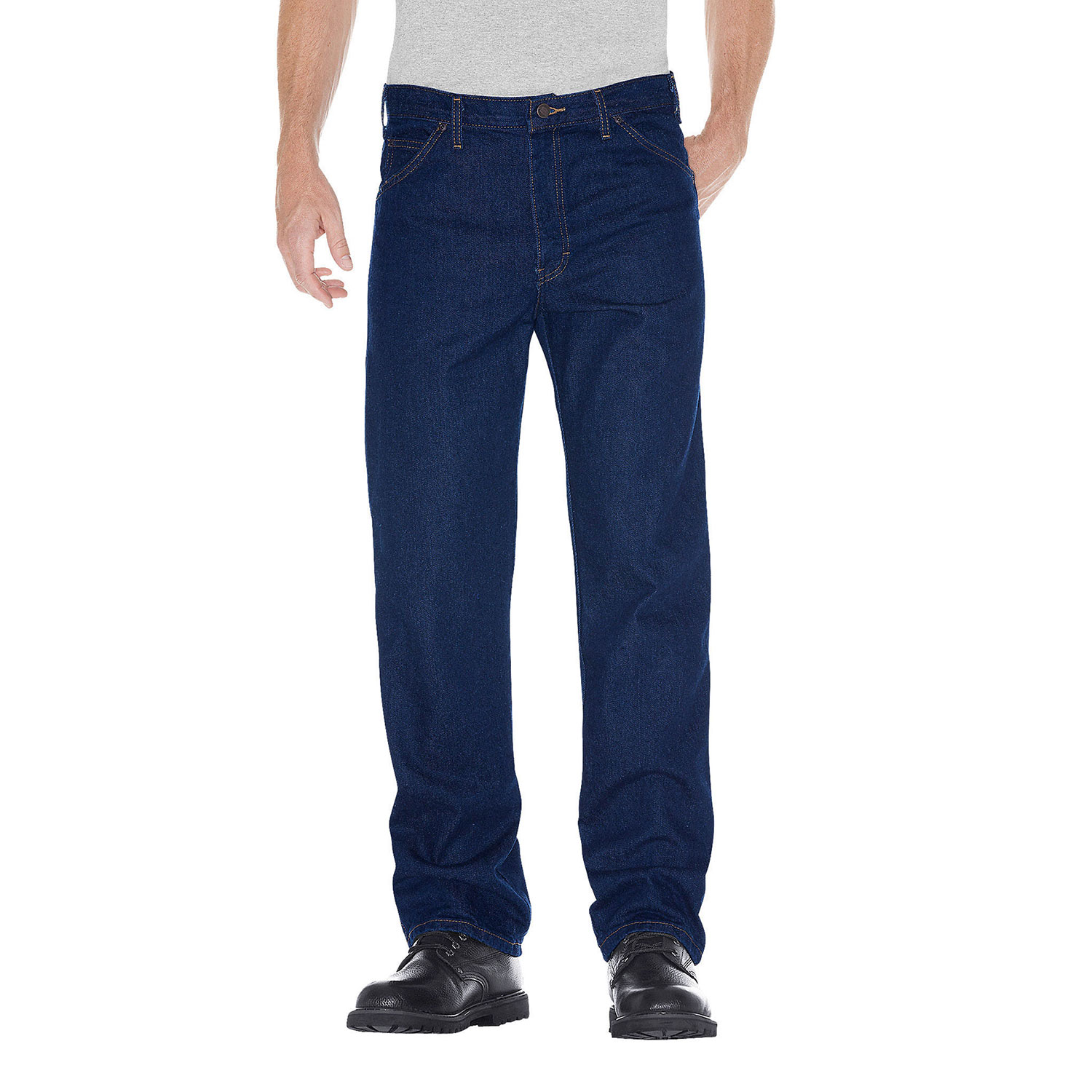 Dickies Regular Straight Fit 5-Pocket Denim Jeans