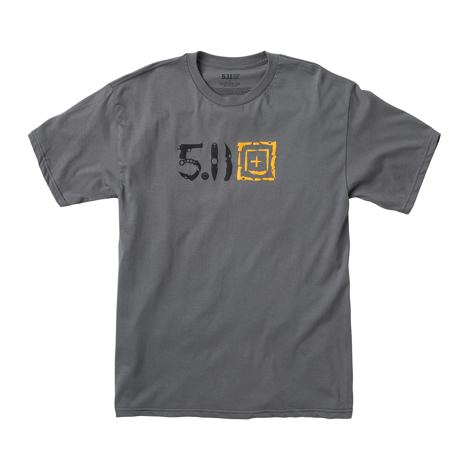 5.11 Tactical Men's Knife Fight Short Sleeve Tee