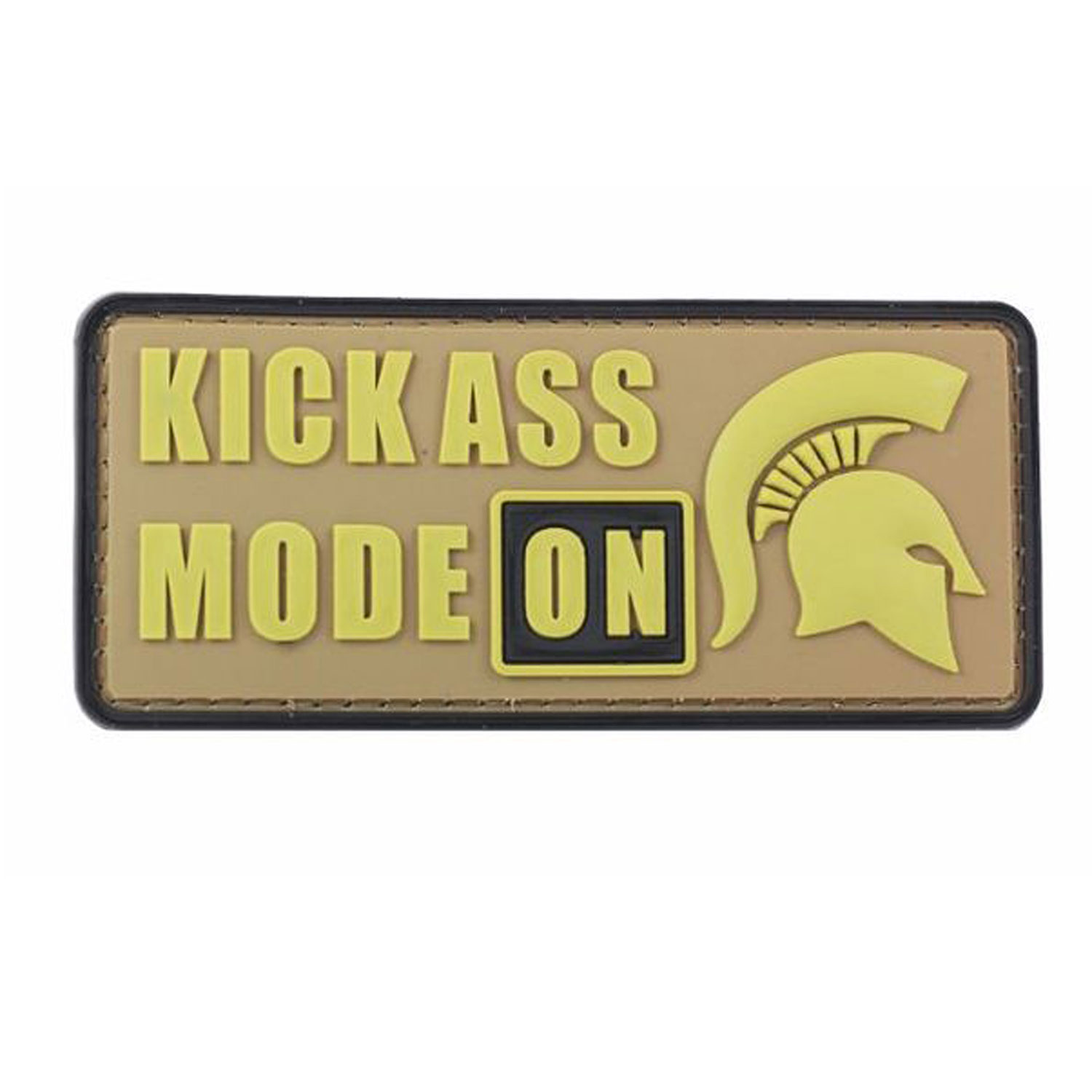 Kickass Mode PVC Morale Patch