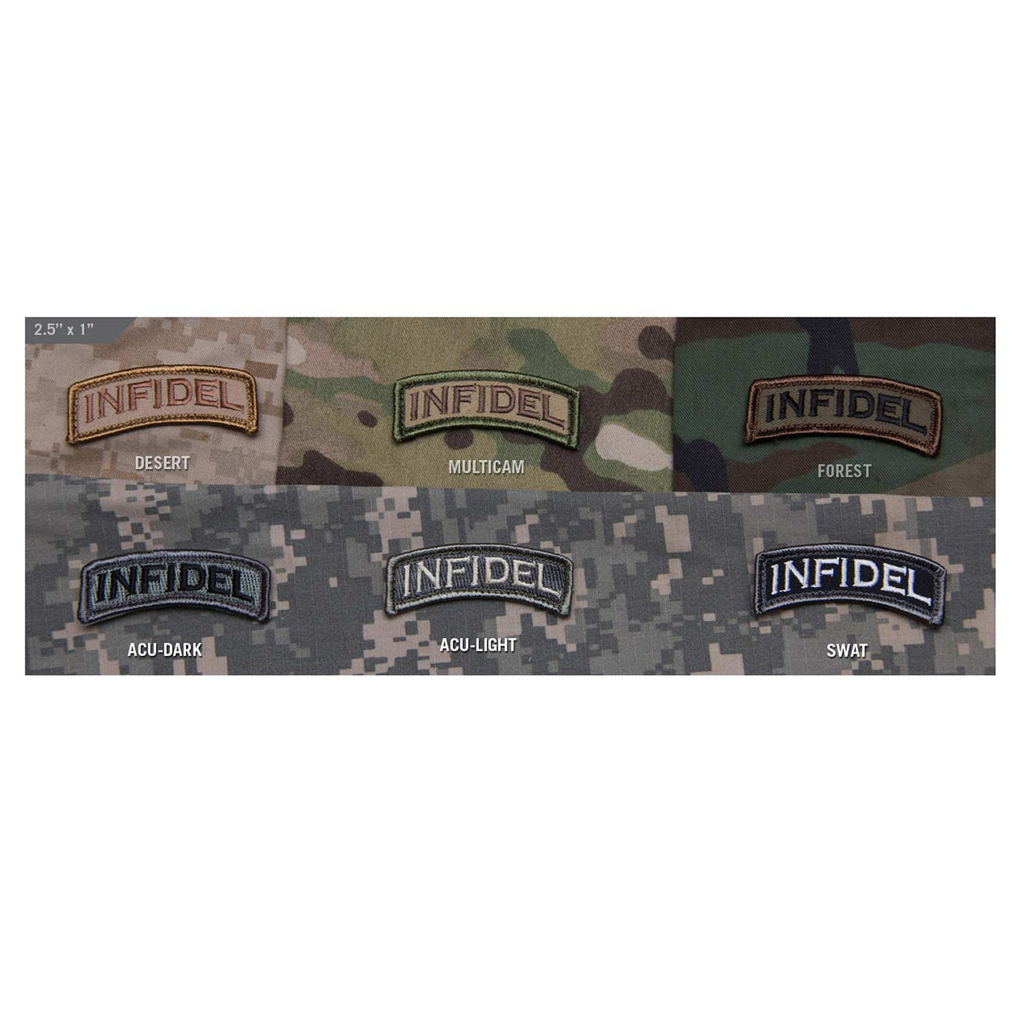 Mil-Spec Infidel Tab Patch