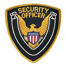 LawPro Security Officer Shoulder Patch with Scroll