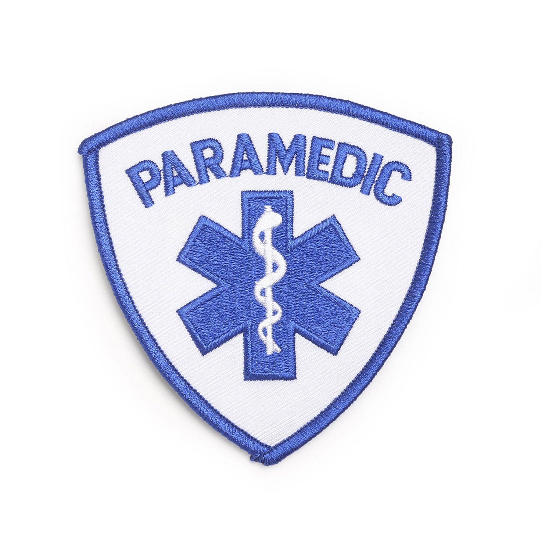 Hero's Pride Paramedic Shoulder Patch with Star of Life