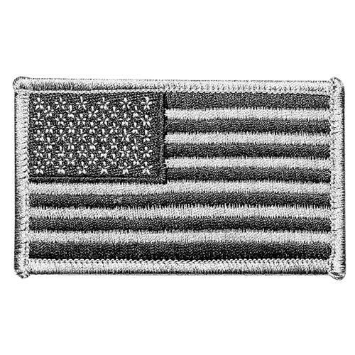 Hero's Pride Subdued American Flag Emblem for Left Sleeve