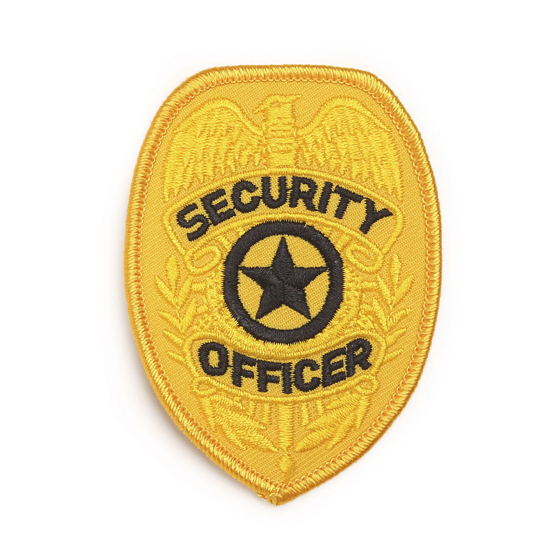 LawPro Security Officer Shield Patch Gold or Silver