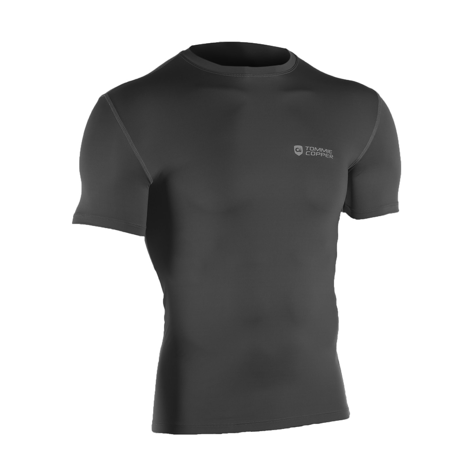 36d994401 Tommie Copper Men's Recovery Compression Short Sleeve Crew Neck Shirt