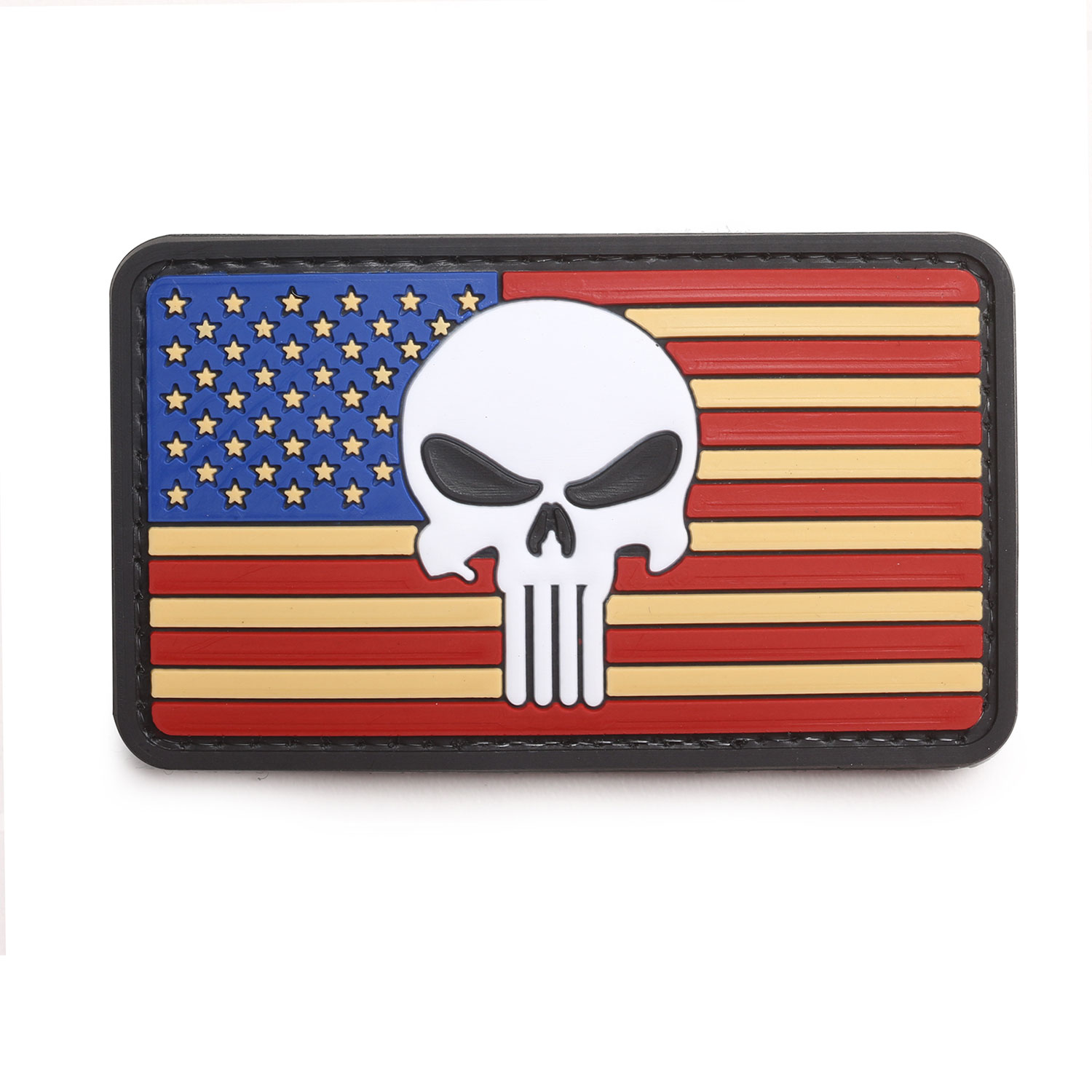 "5ive Star Gear ""Vintage Flag Punisher"" Morale Patch"