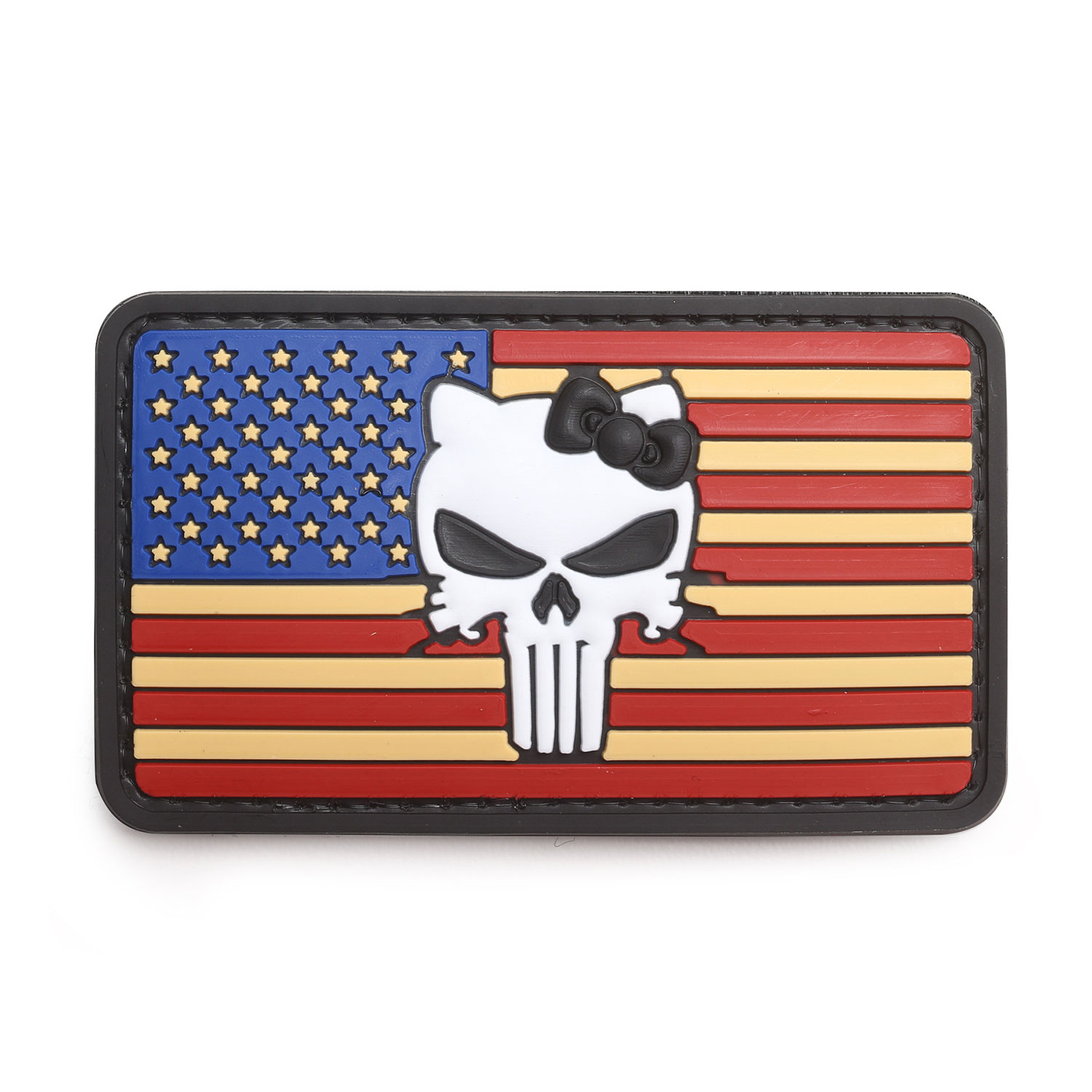 "5ive Star Gear ""Vintage Flag with Kitty"" Morale Patch"
