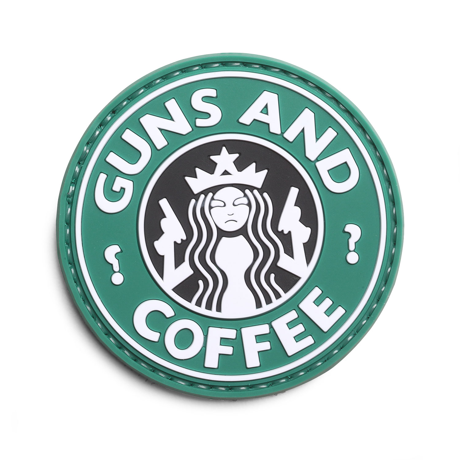 "5ive Star Gear ""Guns and Coffee"" Morale Patch"