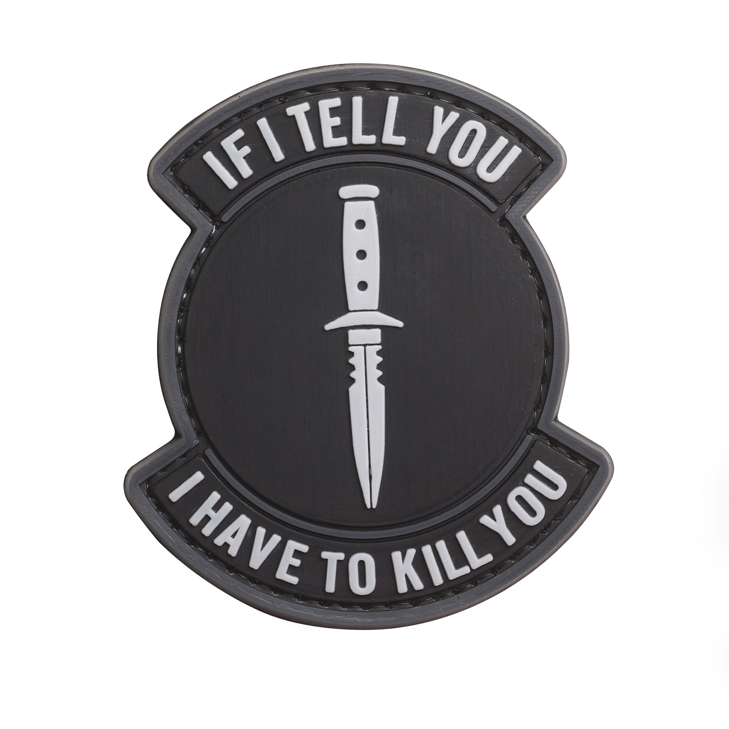 "5ive Star Gear ""If I Tell You"" Morale Patch"