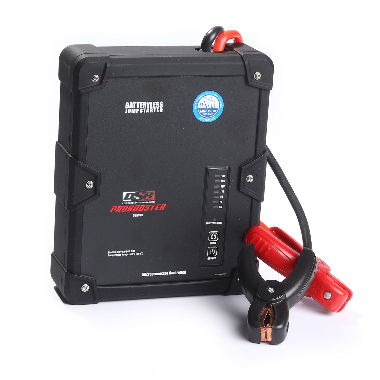Schumacher DSR109 800A Ultracapacitor Battery-less Jump Starter