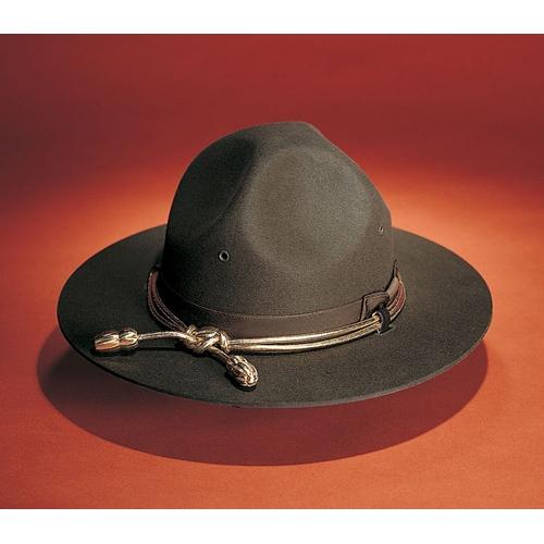 Stratton Felt Campaign Hat W O Eyelet Police Hats