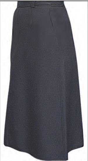 Flying Cross Polyester Skirt
